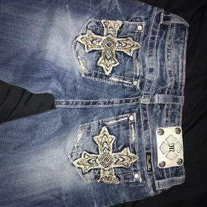 Miss Me Jeans, Size 26. skinny/straight leg